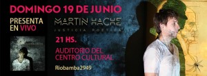 Martin H evento
