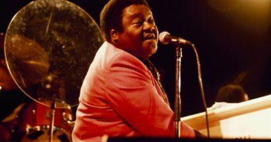 Murió Fats Domino, uno de los padres del rock and roll
