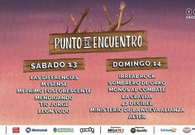 Rock en Baradero abre un #PuntoDeEncuentro con entrada libre y gratuita
