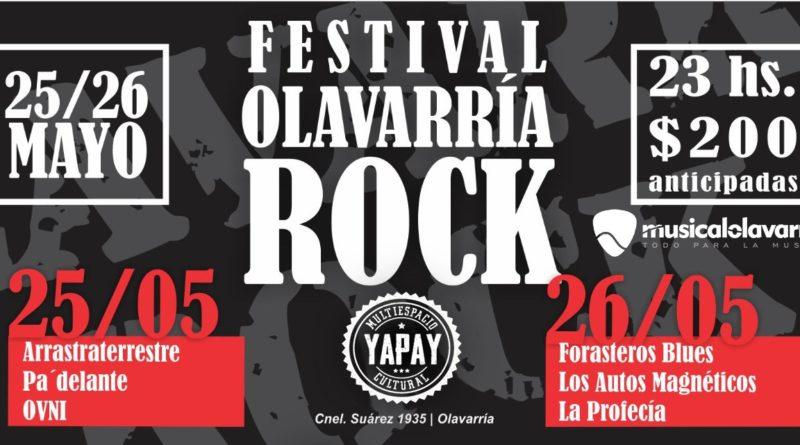 LLega el Festival Olavarría Rock